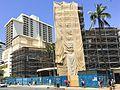 Construction of the International Marketplace in Waikiki. (26083141290).jpg