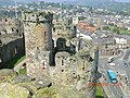 Conwy Castle Turrets - panoramio.jpg