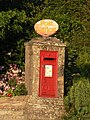Corfe Mullen, postbox No. BH21 119, Blandford Road - geograph.org.uk - 513817.jpg