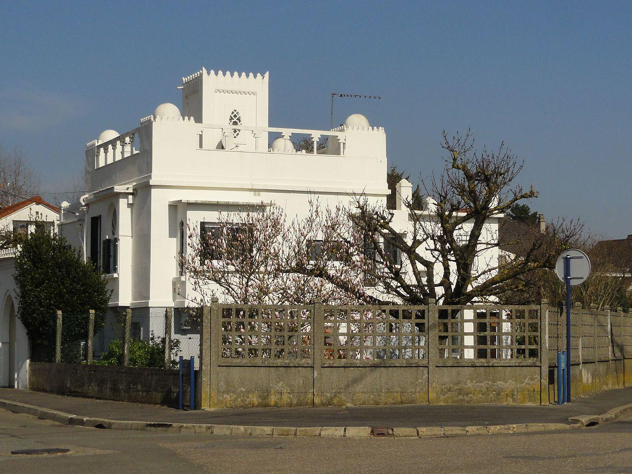 file cormeilles en parisis 95 villa mauresque rue jean charcot rue de la mardelle jpg. Black Bedroom Furniture Sets. Home Design Ideas