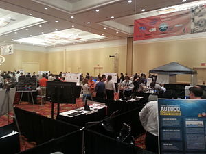Cornell Cup USA - The teams presenting their projects at the 2014 expo.