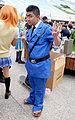 Cosplayer of Kankichi Ryotsu, Kochikame at FF26 20150829a.jpg