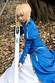 Cosplayer of Saber, Fate-stay night at CWT45 20170204a.jpg