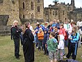 Courtyard at Alnwick Castle - geograph.org.uk - 1439547.jpg