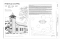 Cover Sheet - Pineville Chapel, State Road S-8-204, Pineville, Berkeley County, SC HABS SC-438 (sheet 1 of 15).png