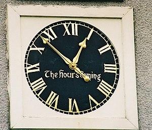 Crimond - Crimond clock, with 61 minutes