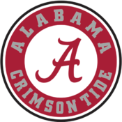 Alabama Crimson Tide volleyball athletic logo