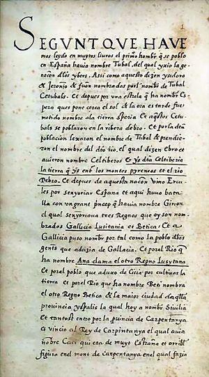 Chronicle of San Juan de la Peña - Image: Cronica pinatense