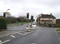 Crossroads at Flimwell, on a dull day - geograph.org.uk - 624449.jpg