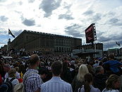 Crowd outside of the Stockholm Palace.JPG