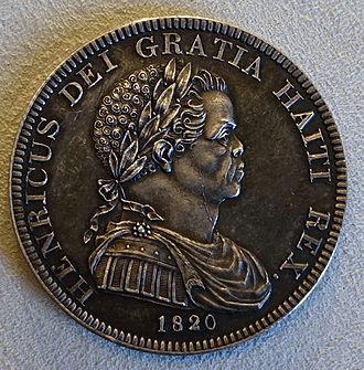 Henri Christophe - Image: Crown, Henry I of Haiti (Henri Christophe), Haiti, 1820 Bode Museum DSC02719