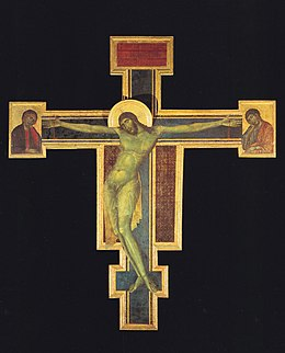 Crucifix. Cimabue. Santa Croce before 1966.jpg