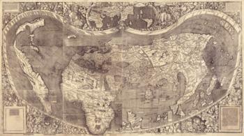 Waldseemüller world map