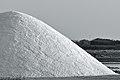 Cumulo di sale, prima di essere coperto di tegole di terracotta.JPG