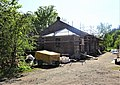 Currie station old goods shed, Balerno Loop Line, Midlothian.jpg