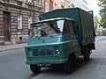 Cyan FSC Żuk A-111 B light commercial vehicle in Kraków.jpg