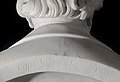 Cyprien Godebski, portrait of Gioacchino Rossini, signed marble 1865 detail signature.jpg