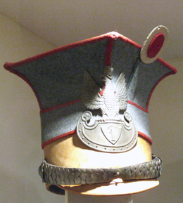 Czapka of an Wachtmeister of 1st Uhlan Regiment of Polish Legions 1914-1918.png