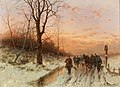Désiré Thomassin - Returning Home from the Hunt at Sunset.jpg