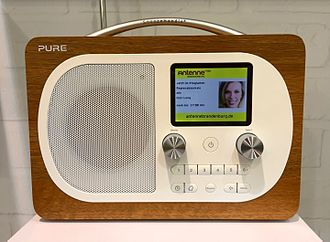 Digital audio broadcasting - A Pure-branded DAB receiver