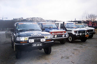 Dakar Rally - Toyota, 1993 in Paris