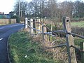 Damaged Barrier - geograph.org.uk - 311154.jpg