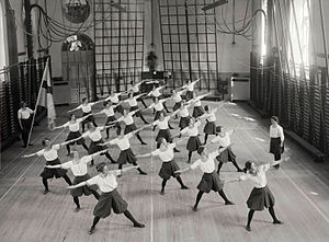 Gymnastics - Early 20th-century gymnastics in Stockholm, Sweden