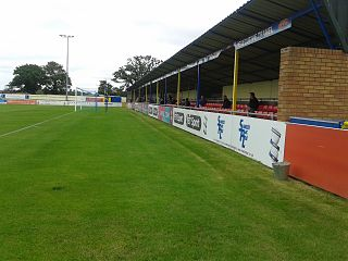 Damson Park Association football stadium in England