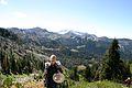 Dan Dugan with recording vest on Foster Lake Trail.jpg