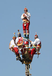<i>Danza de los Voladores</i> Mesoamerican rite