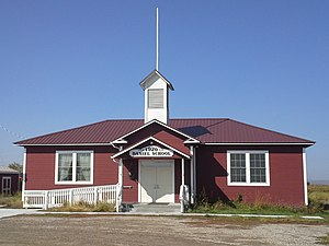 National Register of Historic Places listings in Sublette County, Wyoming - Image: Daniel School House 1920