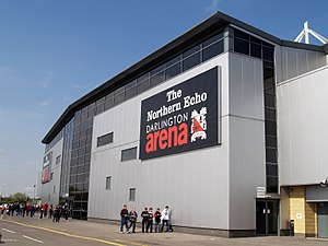 The Darlington Arena - The arena as pictured in 2009