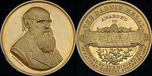 James Eustace Bagnall - Medal forming part of the Darwin Prize