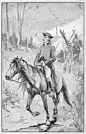 David Brainerd - Image: David Brainerd on horseback