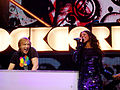 David Guetta and Kelly Rowland Live - Orange Rockcorps London 2009-2.jpg