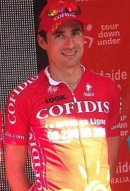 David Moncoutié tijdens de Tour Down Under 2009