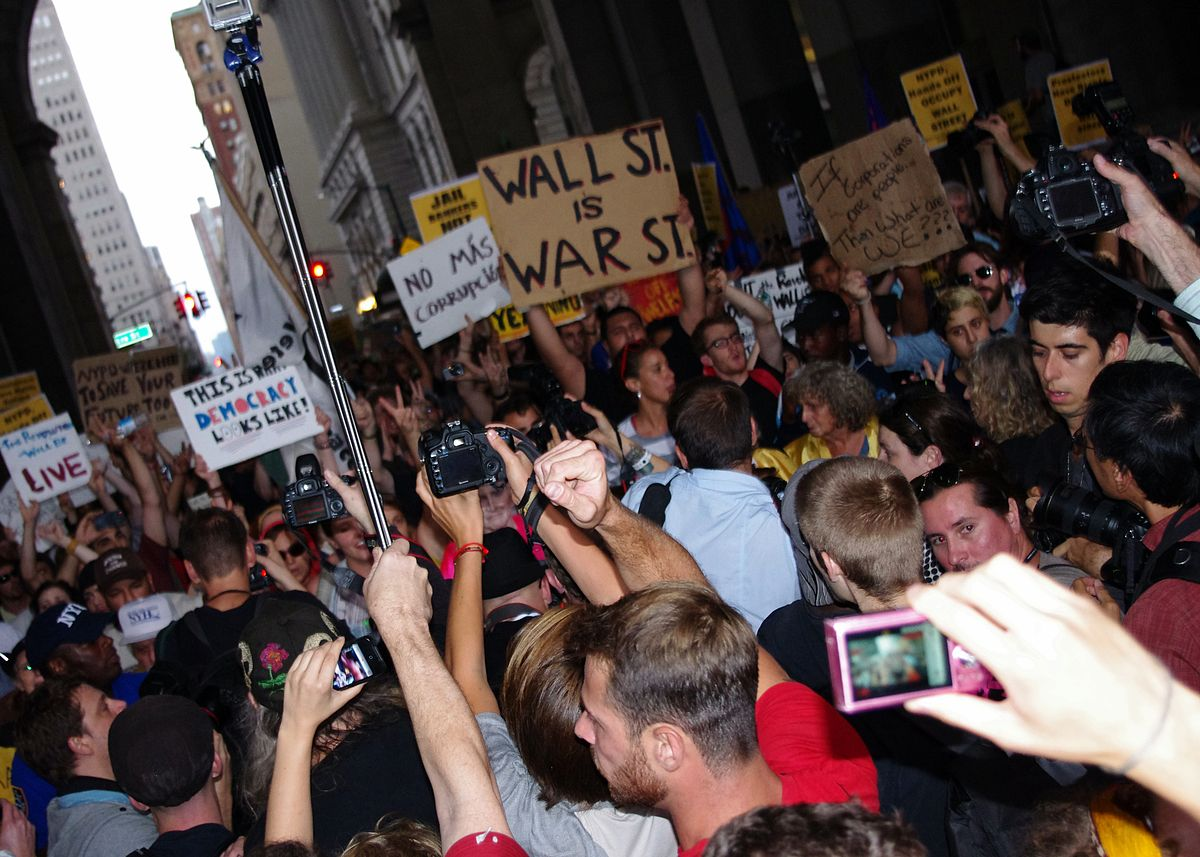 the occupy movement The occupy wall street movement is not just a charming mess we are all  leaders represents a real praxis, and it has a real history.