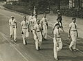 De Franse deelnemers op het parcours van 55 km. op de Mookse baan tijdens de 23e – F40387 – KNBLO.jpg