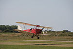 De Havilland Tiger Moth on finals. . . . 9 (9705196406).jpg