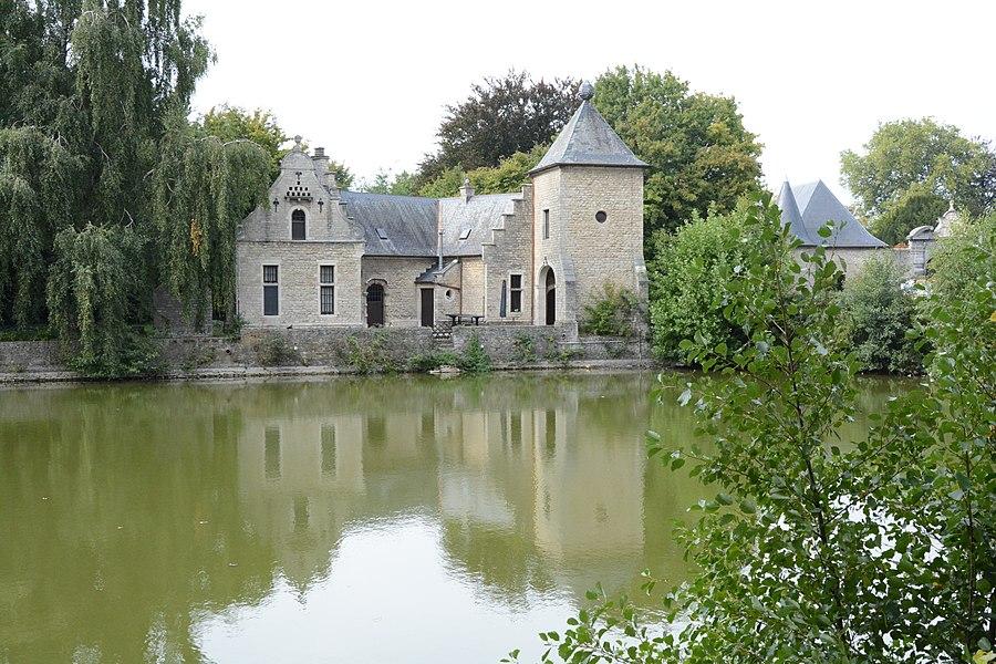 Bijgebouw Kasteel van Ham, de Maillé de la Tour Landrylaan 3, Steenokkerzeel