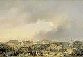 De citadel van Antwerpen kort na het beleg, 19 november-23 december 1832, en de overgave van de Nederlandse bezetting aan de Fransen. Rijksmuseum SK-A-966.jpeg