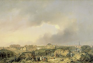 The Citadel of Antwerp shortly after the Siege of 19 November-23 December 1832, and the Surrender of the Dutch Garisson to the French