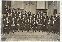 De huldiging van Professor Lorentz bij de Hollandse Maatschappij der Wetenschappen in 1925.jpg