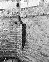 deel van oude muur met restant van beschilderde bepleistering - hasselt - 20102822 - rce