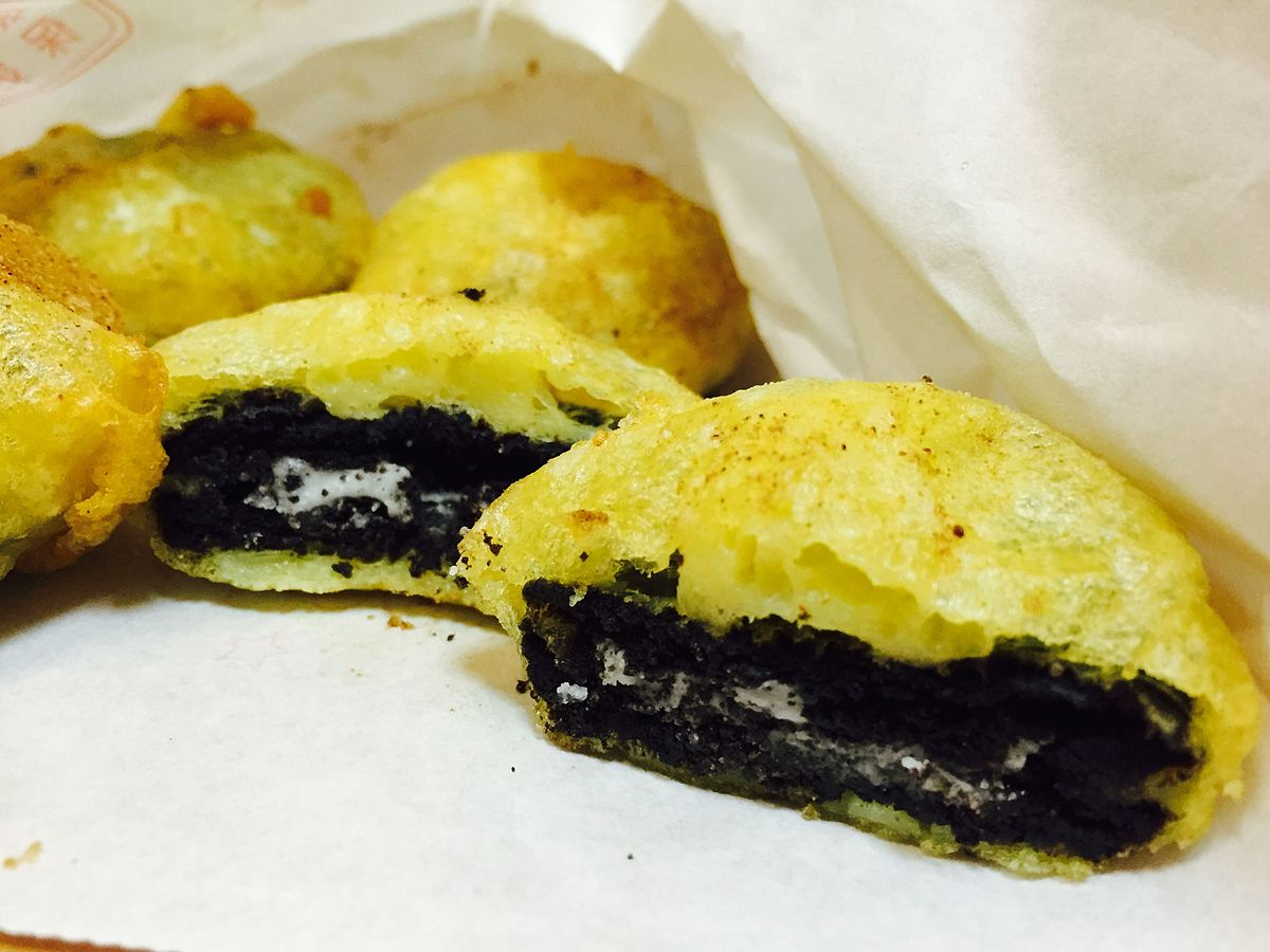 Deep fried Oreo - Wikipedia