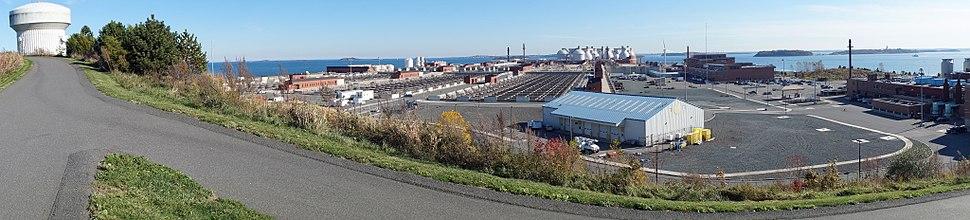 Deer Island water treatment plant
