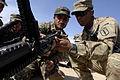 Defense.gov News Photo 110221-N-IT566-012 - U.S. Army Pfc. Jeremiah Jones right with Bravo Company 3rd Battalion 4th Infantry Regiment 170th Infantry Brigade shows an Afghan National.jpg