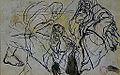 Dehodencq A. - Ink - Etude de personnages 20x12.5cm.jpg