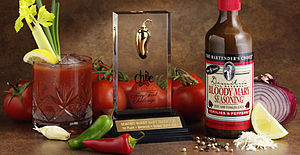 Drink mixer - Bloody Mary mix (far right)