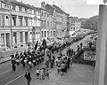 Demonstratie van Duitse mijnwerkers in Bonn tegen sluitin van mijnen in het Roer, Bestanddeelnr 910-7028.jpg